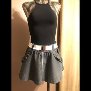 Bebe Mini Skirt With Belt